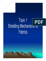 Topic 2 Shedding Mechanisms