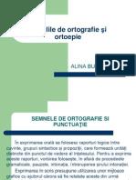 Regulile de Ortografie Si Ortoepie
