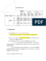 61881507 Pronumele Si Adjectivul Pronominal Posesiv