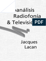 Lacan, Jacques - Psicoanalisis, Radiofonia