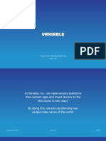 Variable Graphic Identity Guidelines