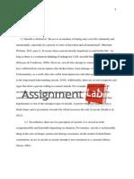 Suicide/ Essay / Paper by AssignmentLab.com