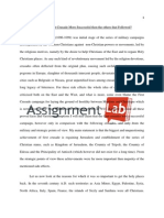 The First Crusade/ Essay / Paper by AssignmentLab.com