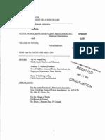 Scotia Police Department Settlement