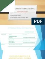 Presupuestos y Control de Obras