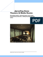 Soundproofing Home, Theaters & Media Rooms