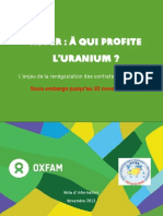 Niger Renegociations Areva Note Oxfam-Embargo