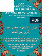Dua for Protections Against All Diseases