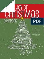 Joys of Christmas Songbook 2013