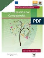 Material del Participante del curso La Planeación por Competencias.