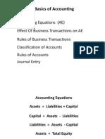 Accounting Equations
