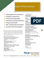 Accelerometer Tech.information