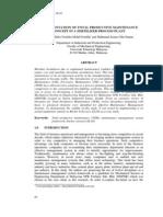 Implementation of Total Productive Maintenance