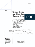 NASA Design Guide for High Pressure Oxygen Systems