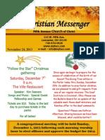November 24 Newsletter