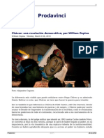 Chavez Una Revolucion Democratica Por William Ospina