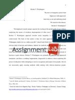 Booker T. Washington/ Essay / Paper by AssignmentLab.com
