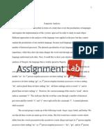 Linguistics/ Essay / Paper by AssignmentLab.com