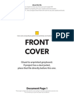 Hardcover Casebound Page Order Example