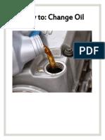oil change manual - lex edits
