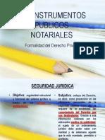 Escritura Publica y Acta Notarial
