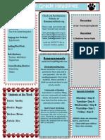 Week 16 Newsletter- December 2-6