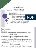 c 3 Polynomials