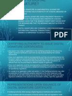Digital Signature Certificates