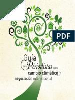 Guía para periodistas de la agencia EFE para cubrir eventos relacionados al cambio climático