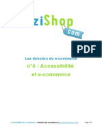 Dossier Wizishop Ecommerce Accessibilite