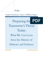History of Malware Defense