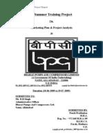 Project Report On BPC Ltd.