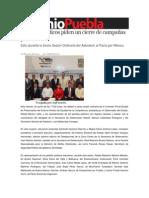 28-06-2013 Sexenio Puebla - Partidos Políticos piden un cierre de campañas pacífico