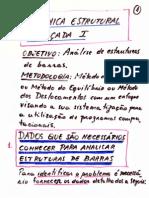 Mecanica Estrutural - Notas de Aula 01