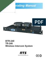 BTR-240 TR-240_Manual (1)