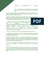 POLÍTICAS Y FILOSOFÍA DE ADMINISTRACIÓN DE MEMORIA