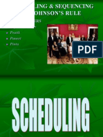19623402 Scheduling and Sequencing by Johnson Rule