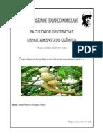 CARACTERIZAÇÃO QUÍMICA DO LICOR DE TAMARINDUS INDICA L