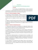 Constitución Española Arts 15 a 29
