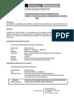 Orientaciones y Protocolo v Simulacro 2013