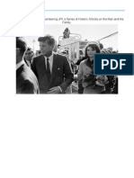 Part 3 of the My eBook Remembering JFK a Series of Historic Articles on the Man and His Family