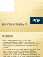 MUESTREO DE MINERALES.ppt
