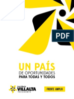 Plan de Gobierno 2014-2018 Frente Amplio