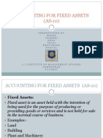 Accounting for Fixed Assets (as-10)