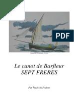 1 Canot de Barfleur Sept Frères -  construction début
