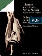 Acosta, Saignes, Miguel  Tiempo secreto de Sonia Sanoja. Sanoja Sonia, A través de la danza 1