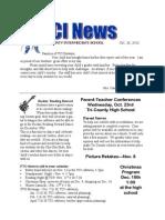 TCI  Newsletter Oct 18