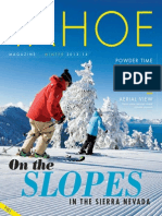Tahoe Magazine — 2014 Winter edition North