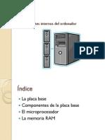 UNIDAD 3 - Componentes internos del ordenador (1ª parte)