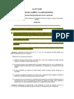 Ley Nº 18.590 (Ciudadana)